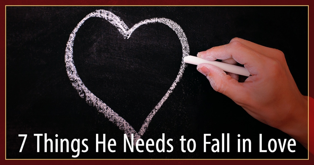 what makes a man fall in love and commit