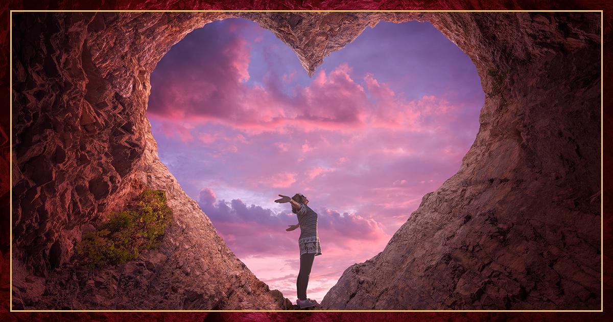 will i find love woman heart rock