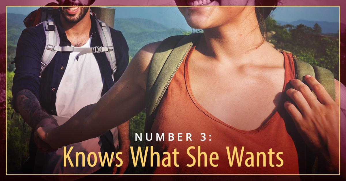 what men find attractive hiking