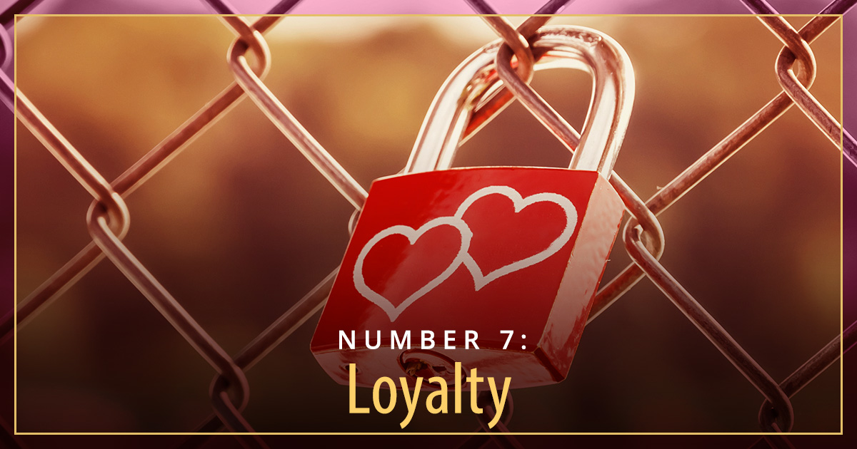 what men find attractive loyalty lock