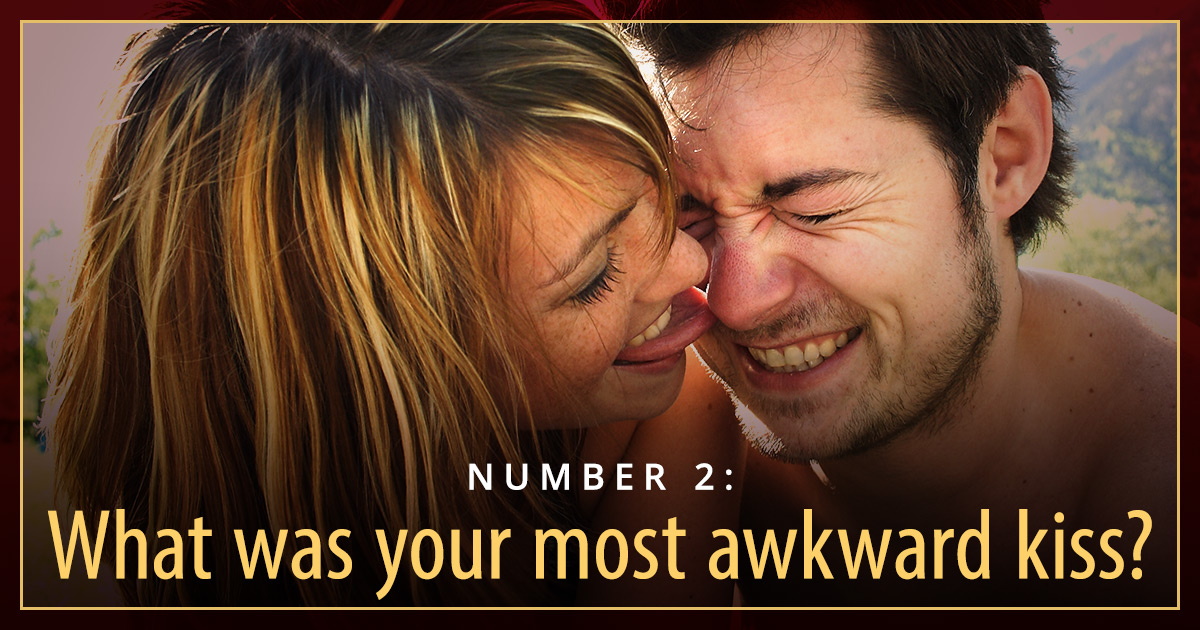 best questions to ask on a date awkward kiss