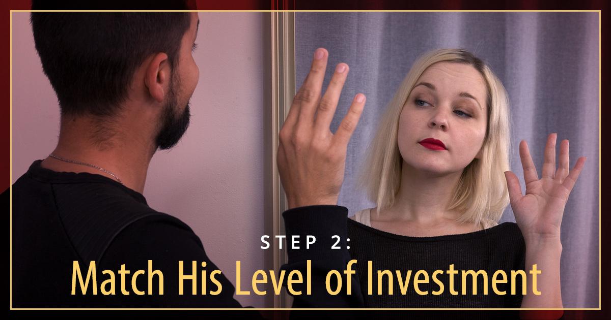 when a man ignores you advice