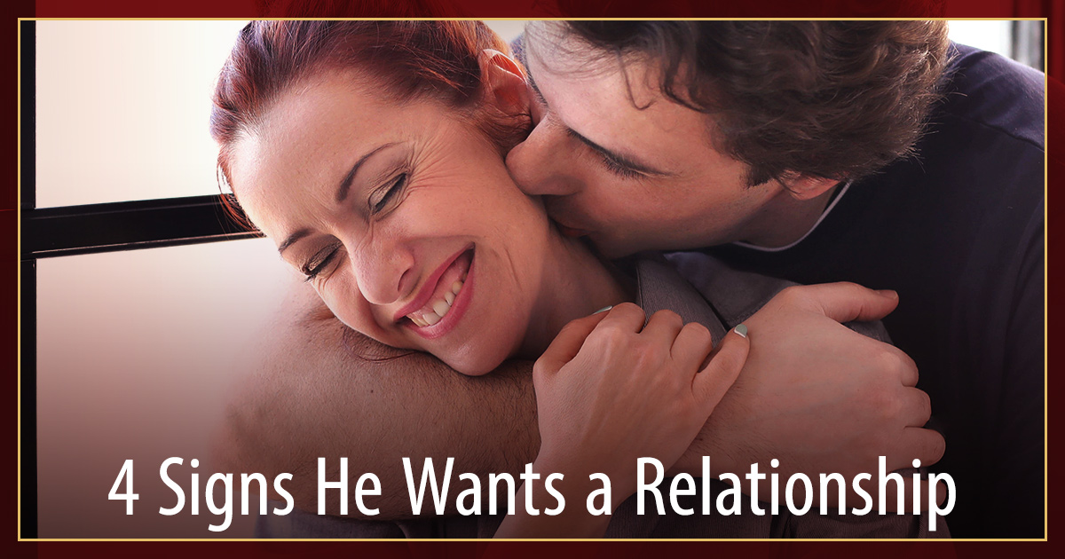Cracking The Man Code - 4 Signs He Wants a Relationship But