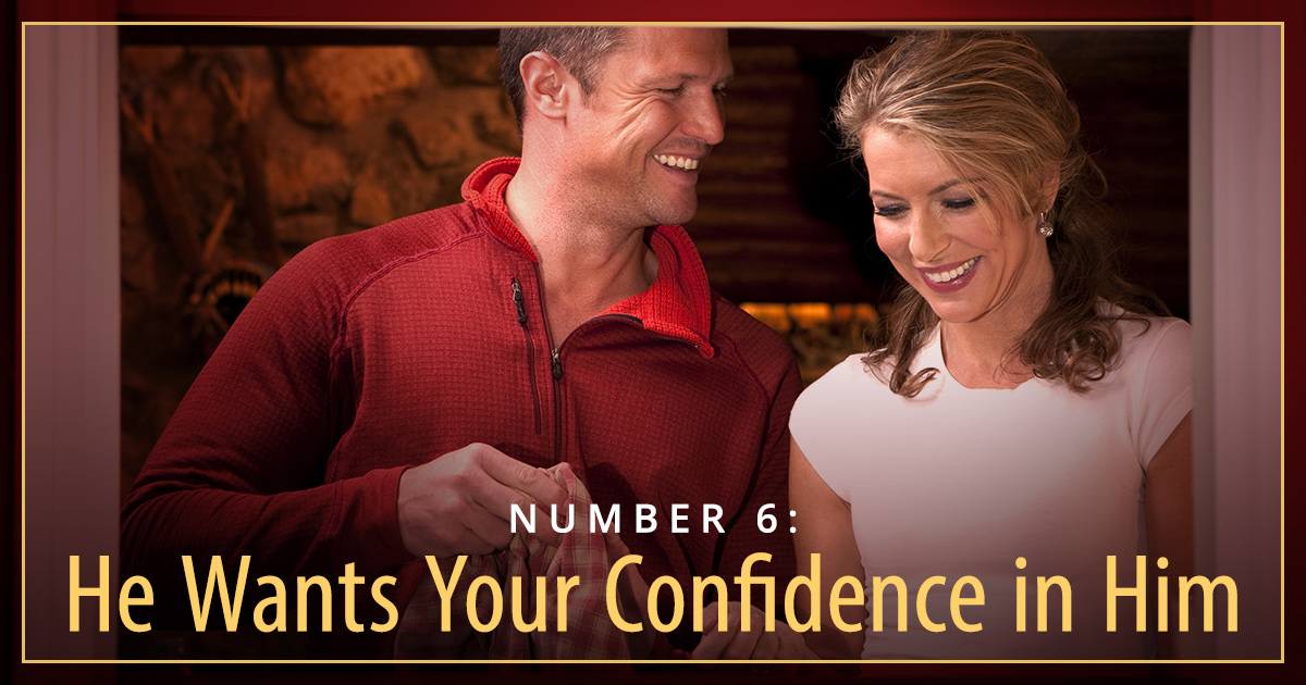 what do men want in a relationship confidence